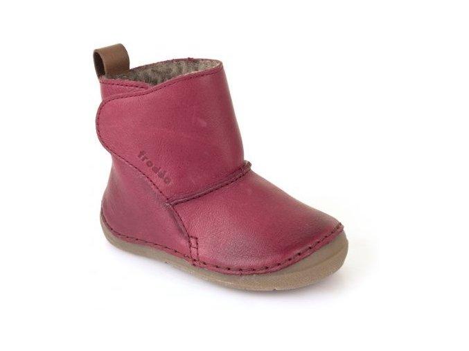 Froddo Winter Boots Bordeaux válenky s kožešinou