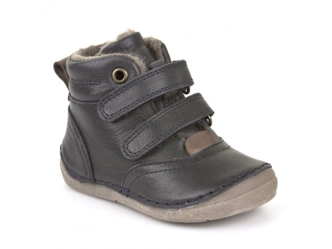 Froddo Winter Boots Dark Blue s kožešinou