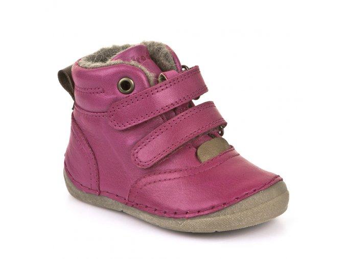 Froddo Winter Boots Fuchsia s kožešinou
