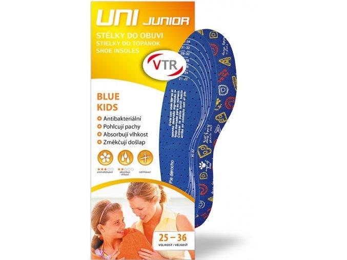 Vložky do bot uni junior line Blue kids - odstřihávací
