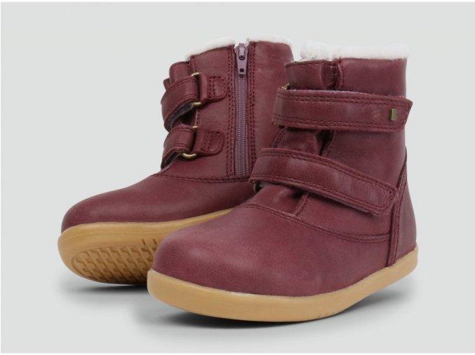 Bobux Aspen Boot Plum