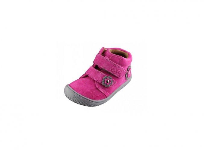 7520 filii barefoot chameleon velcro velours pink m