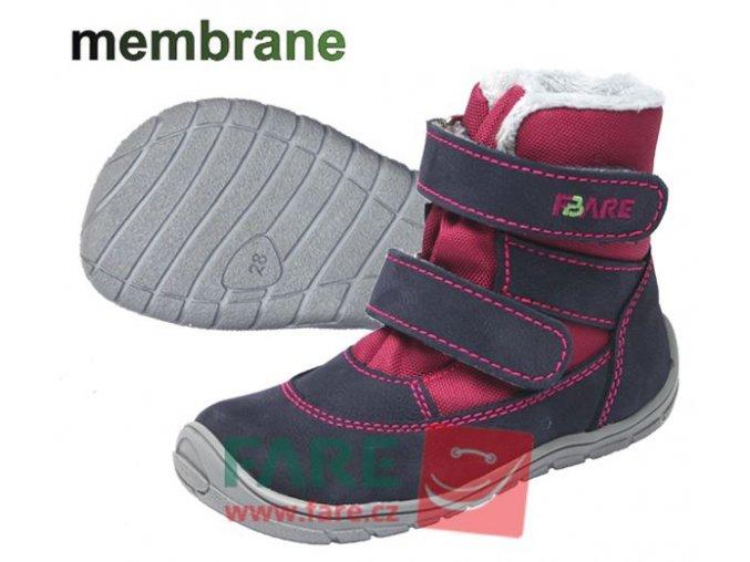 FARE BARE dětské zimní nepromokavé boty 5141291