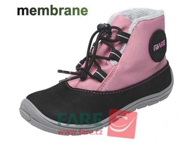 FARE BARE dětské zimní nepromokavé boty 5143251