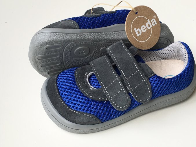Beda Barefoot tenisky Kevin (BF003/SK/W)