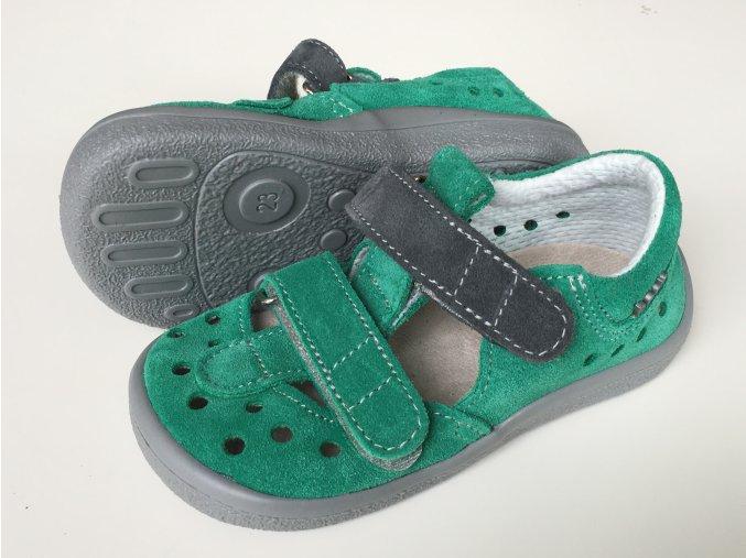 Beda Barefoot sandály SAM (0001/SD/W)