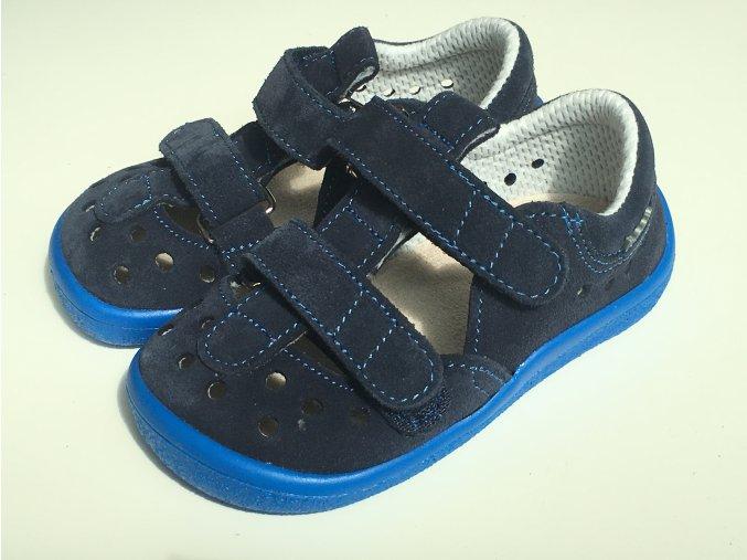 Beda Barefoot sandály DANIEL 0001/SD/W