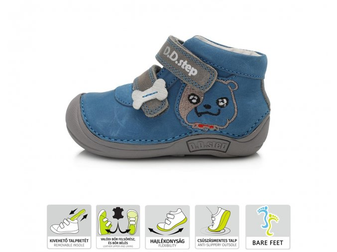 D.D.Step Bare Feet celoroční 018-58