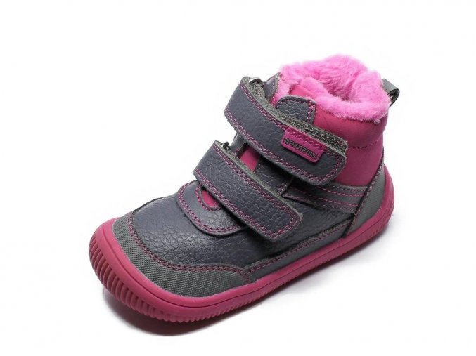 Protetika Tyrel Fuxia zimní barefoot boty