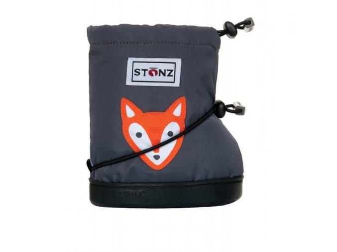 STONZ Booties Toddler - Fox Grey