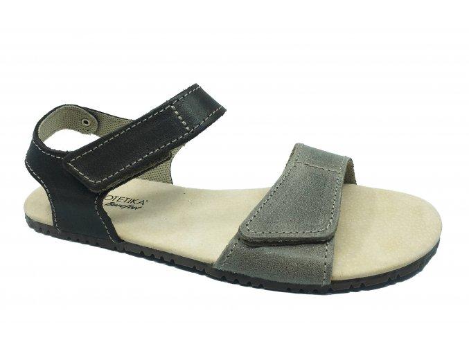 Protetika Belita 40 šedohnědé dámské barefoot sandály