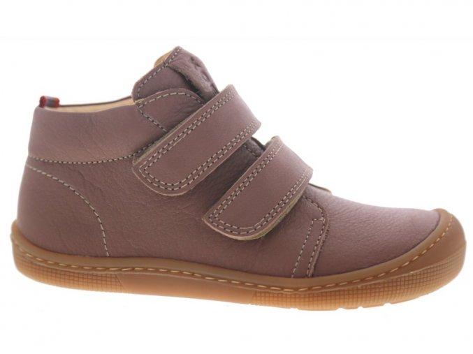 KOEL4kids Don Old Pink barefoot celoroční kotníkové boty (M002.101-600)
