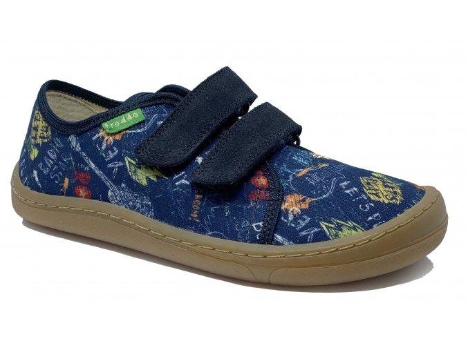 Froddo Barefoot Tenisky blue (G1700302-1)