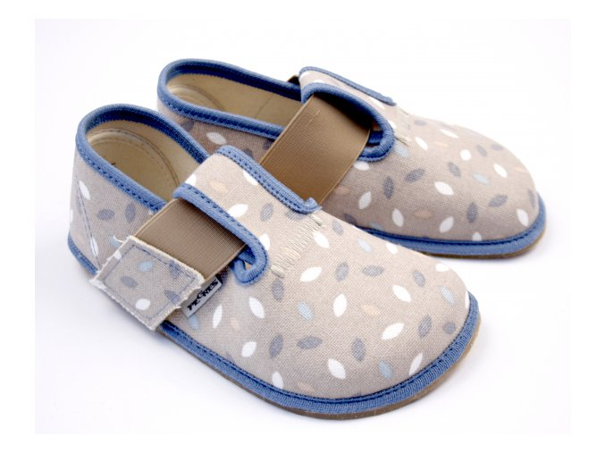 Barefoot Pegres bačkůrky modré BF01