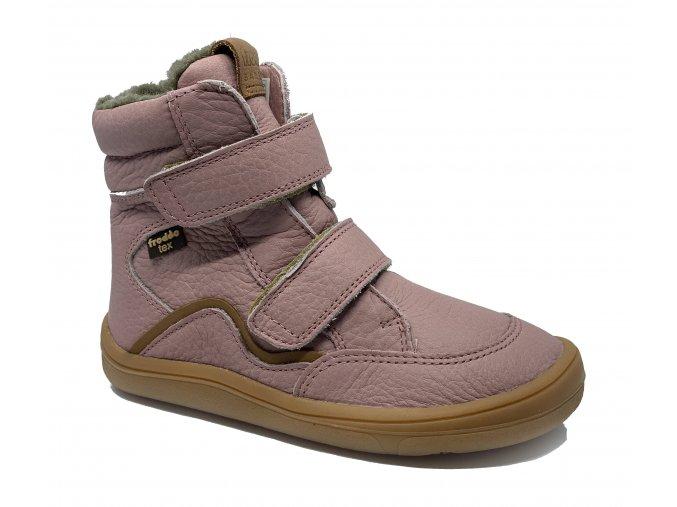 Froddo Barefoot zimní s membránou pink (G3160164-5)