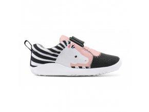 pantofi fete sport zebra roz