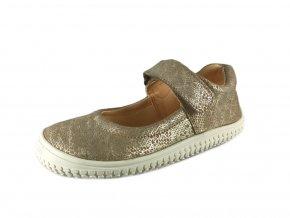 Filii Barefoot - Ballerina Sand/Silver Velour
