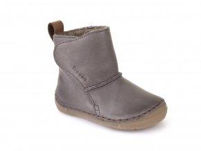 Froddo Boots Wool Grey válenky s kožešinou