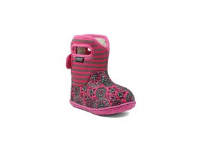 BABY BOGS CLASSIC Pansy Stripe Pink Multi