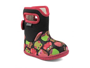 BABY BOGS CLASSIC Owls Black Multi