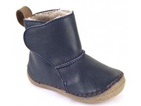 Froddo Winter Boots Dark Blue válenky s kožešinou
