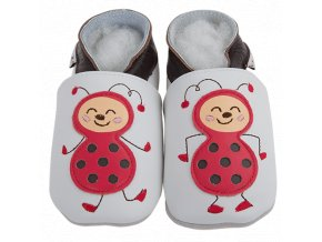 Chaussons cuir Coccinelle Front