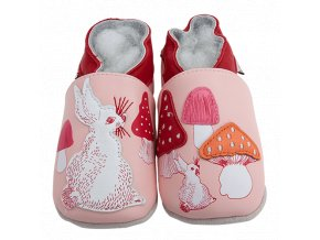 Chaussons cuir Lapin Top