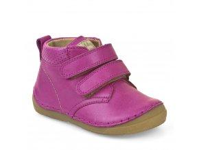 Froddo Boots Velcro Fuchsia