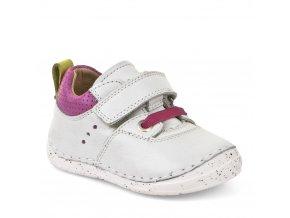 Froddo Flexible Sneakers Velcro White/Fuxia (G2130133-6)