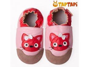 TAPTAPI kočička červená