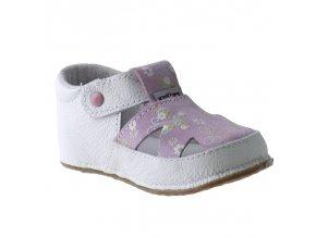 Bosé Pegres sandály růžový květ