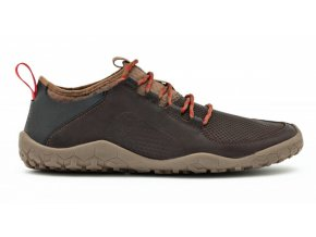vivobarefoot primus trek m leather dk brown1