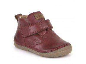 Froddo Boots Velcro Bordeaux