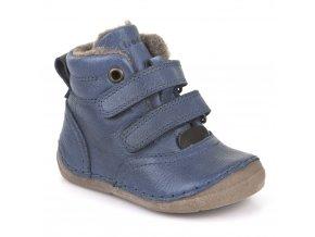 Froddo Winter Boots Denim s kožešinou