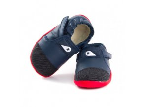bobux play xplorer arctic navy red wool
