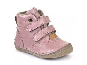 Froddo Winter Boots Pink s vlnou