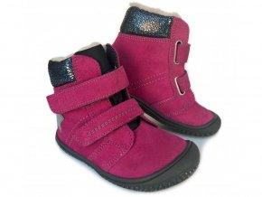 Filii barefoot - HIMALAYA TEX WOOL Pink