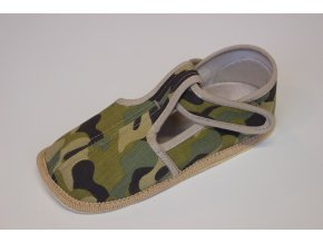 Beda Barefoot bačkůrky vojenské užší