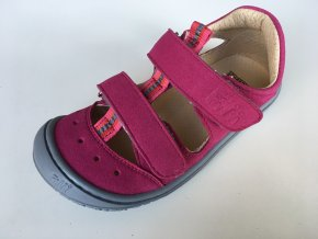 Filii barefoot Sandály Kaiman vegan pink W