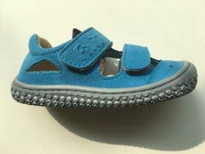 Filii barefoot Sandály Kaiman turquoise M