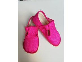 Beda Barefoot bačkůrky růžová batika