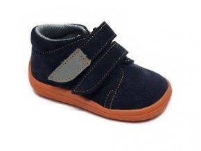 10637 1 barefoot kotnikova obuv s membranou beda blue mandarine 2