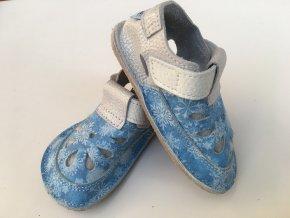 Baby Bare IO Snowflakes TS bačkůrky/sandály
