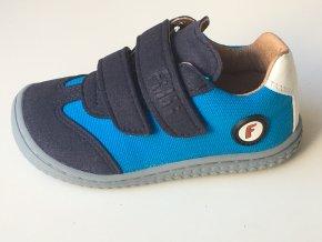 Filii barefoot - Sneaker Leguan velcro textile turquios W