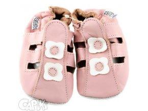 CAPIKI sandálky růžové