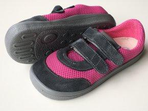 Beda Barefoot tenisky Linda (BF0003/SK/W)