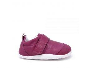bobux xp marvel dress shoe raspberry