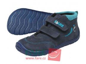 FARE BARE dětské celoroční boty s fleecem 5121203