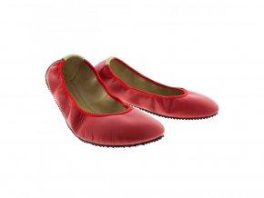 Pathik shoes baleriny Amelíny červené