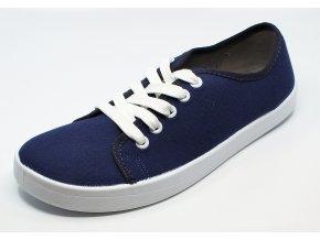 Anatomic All In A11 modré plátěné boty